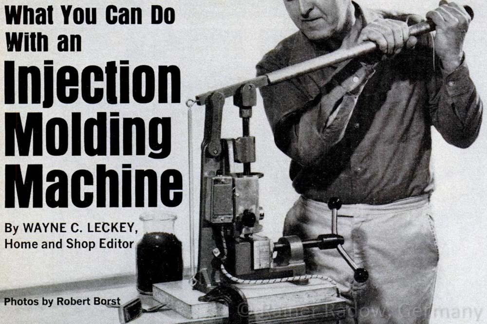 Spritzguss DIY Lösungen aus den 60ger Jahren (Radow © 2014-07-24)