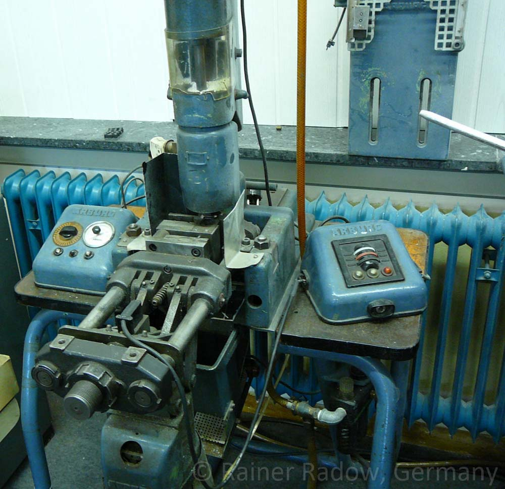 Arburg C4 Spritzgussmaschine mit elektromechanischer Steuerung (Radow © 2014-07-29)