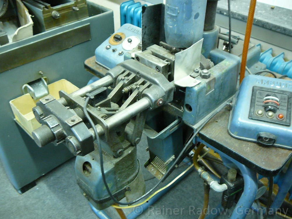 Arburg C4 Spritzgussmaschine mit Kniehebelverschluss (Radow © 2014-07-29)