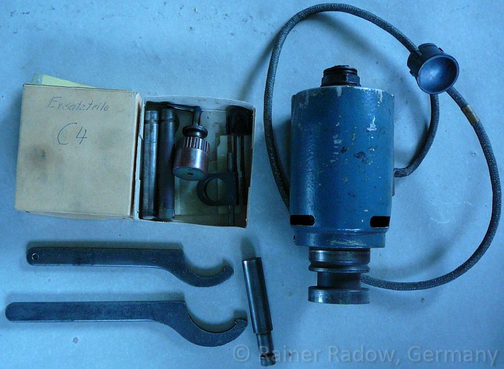 Arburg C4 Spritzgussmaschine - Heizzylinder (Radow © 2014-07-29)