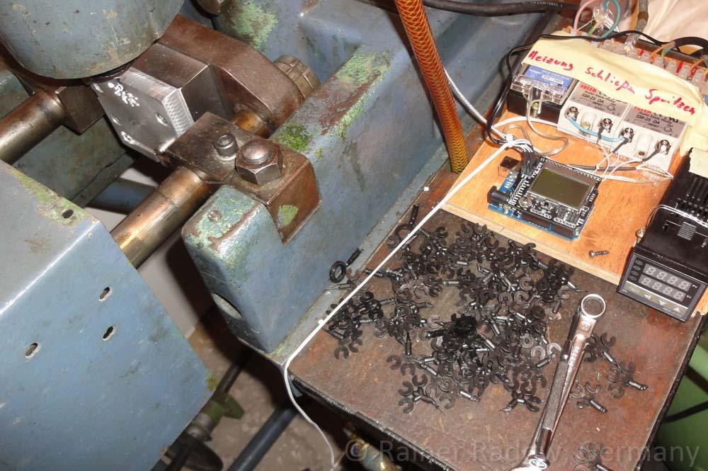 Arburg C4 Spritzgussmaschine mit neuer Arduino Steuerung (Radow © 2014-07-29)
