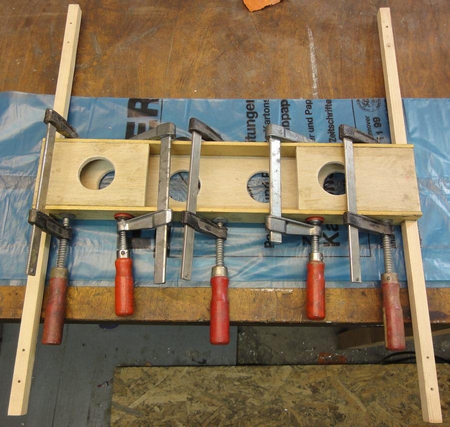 Aufwand für einen Neubau: Holz für 4 Euro plus 2 Stunden Bastelei - ich wusste jetzt ja aber auch wie es geht