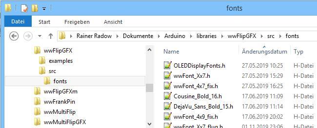 Speicherort aller Fonts der wwFlipGFX-Library