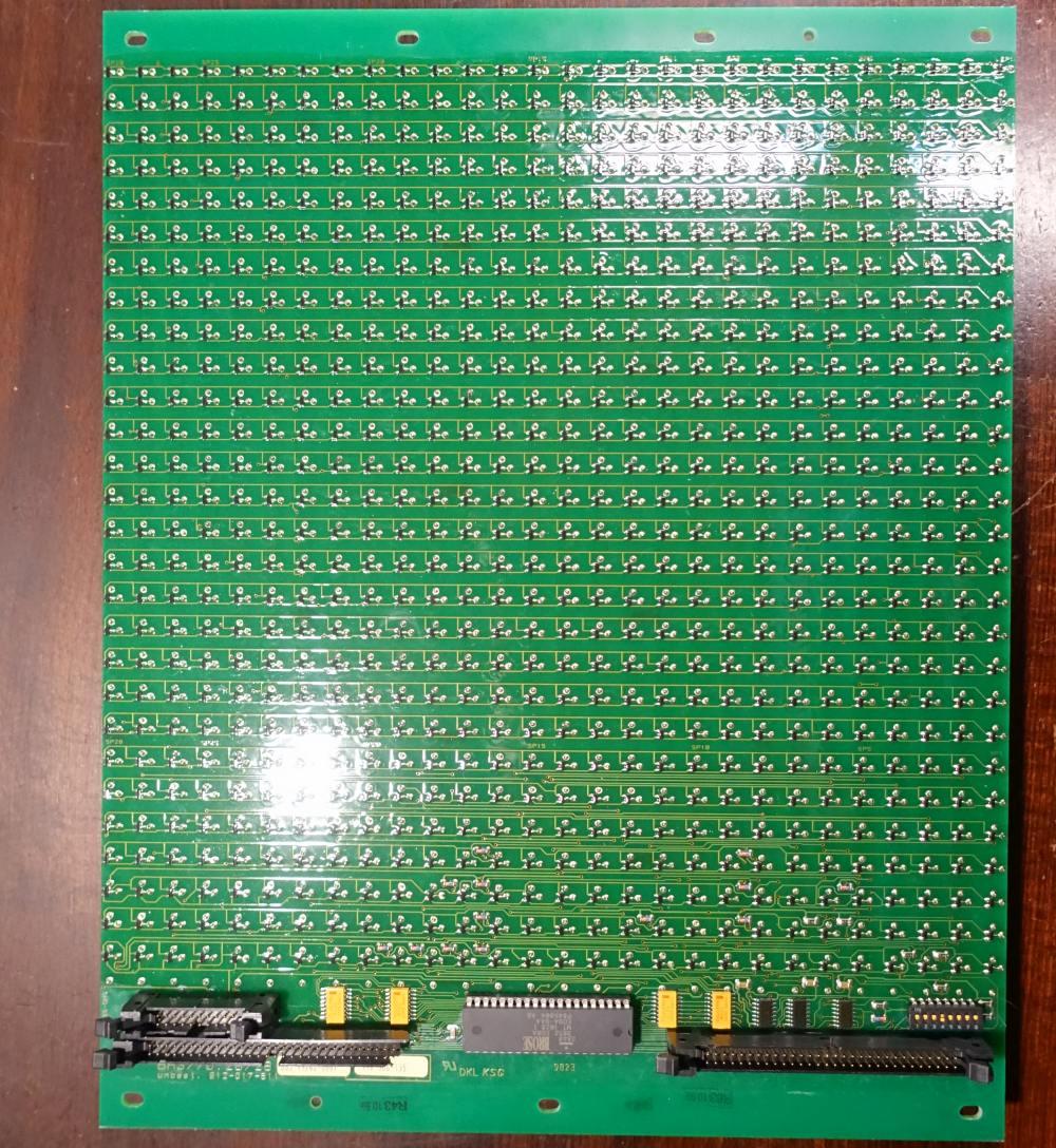 BROSE Flip-Dot Rückseite - rund 10 mm - gelb - 21 x 28 Dots