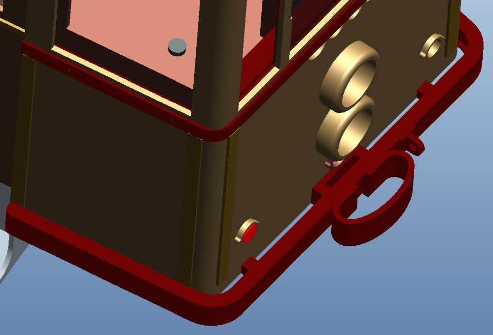 Bumper as 3D-CAD model 2020-10-28