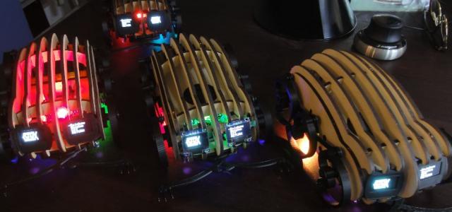 Wood-Walker-Robot